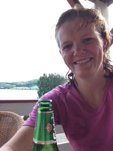 Nydusjet med såpelukt, ren trøye og iskald øl