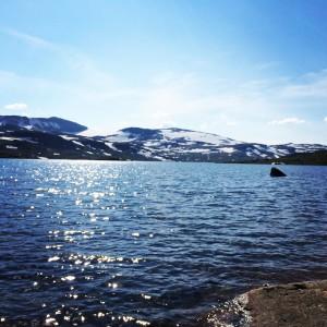 Vann, fjell og Hardangerjøkulen