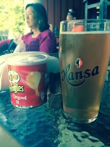 Lokalt øl på Vatnehalsen også:)