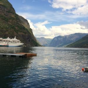 Ut Aurlandsfjorden
