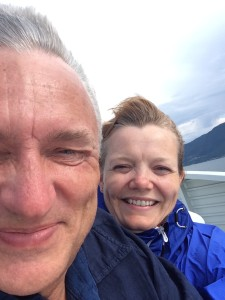 Vindfullt på Hurtigbåten!
